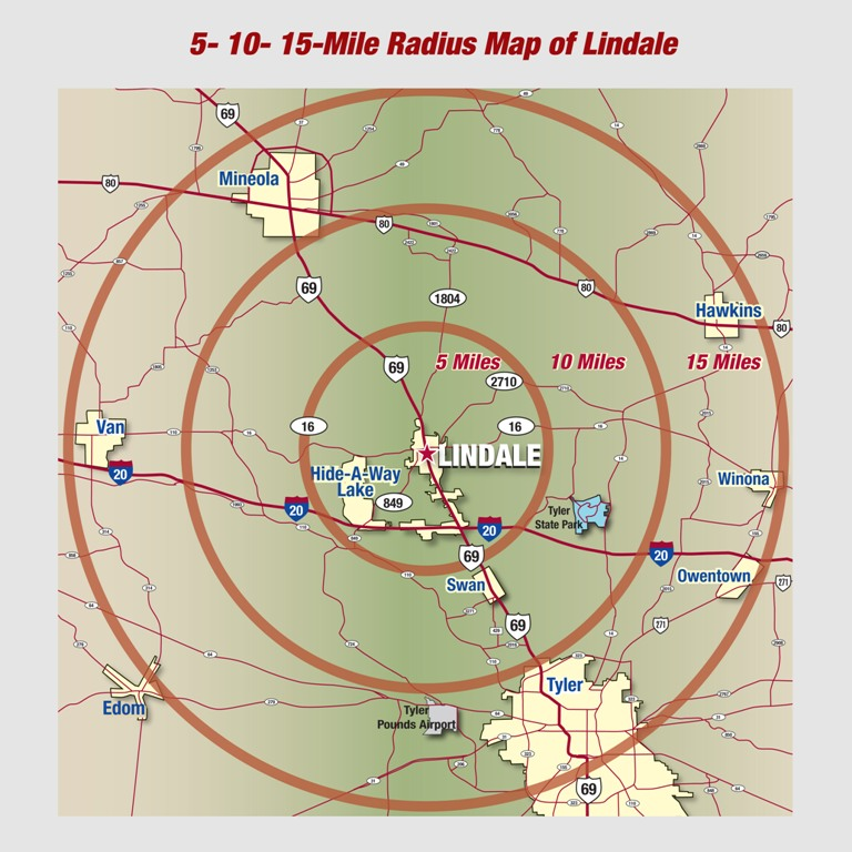 Map Room Lindale Edc