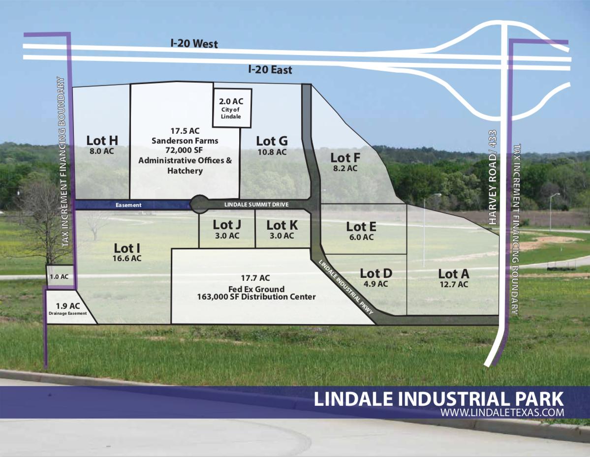 Lindale Industrial Park   Lindale EDC